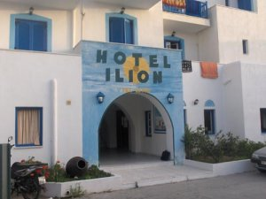 Ilion Hotel in Naxos Island