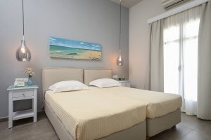 Double bed or twin beds with Sea View