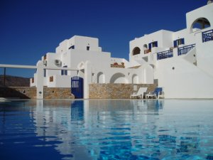 Rita Hotel in Ios Island Greece